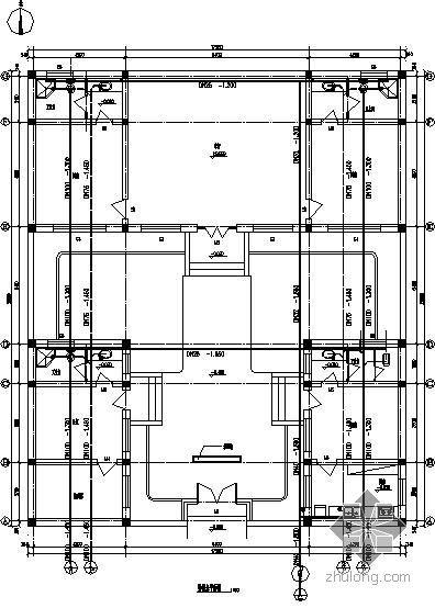 北京某四合院给排水图纸