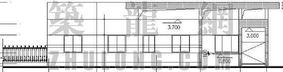 某传达室建筑施工图(全套)