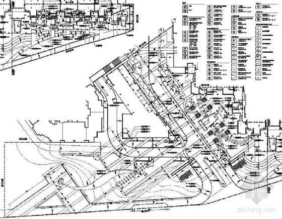 [大连]花园小区一期市政绿化带及售楼处入口广场景观扩初设计