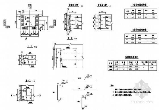 武汉市阳逻开发区某大桥工程设计图纸