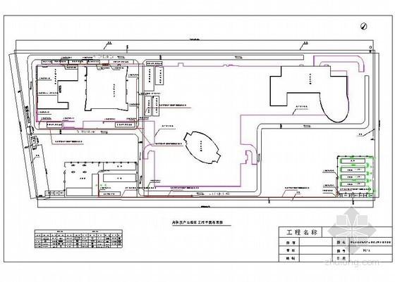 [北京]产业园区施工现场临设施工方案(平面布置图)