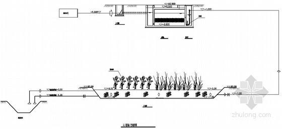 某水源地污染治理工程人工湿地施工图