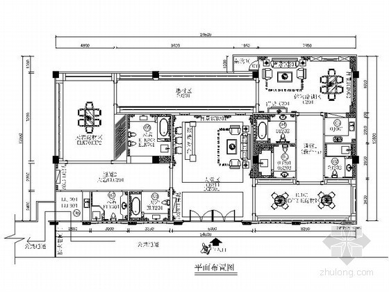 欧式建材家居专卖店室内装修图