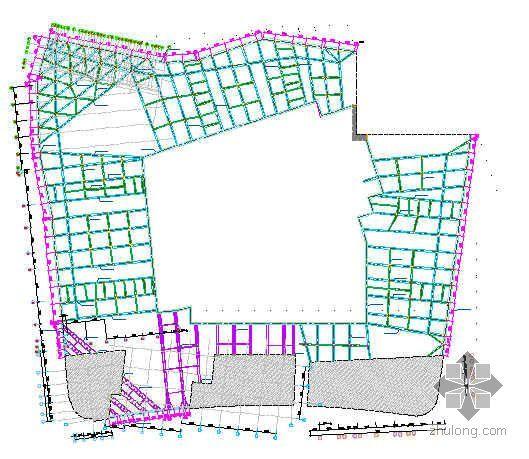 上海某商住楼混凝土支撑拆除方案