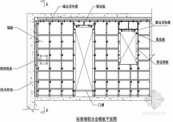 [广东]剪力墙结构办公楼铝合金模板施工方案(附节点图)