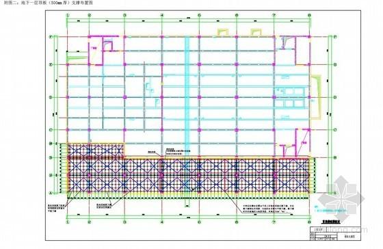 [北京]高大模板及支撑安全专项施工方案(板厚500mm 支撑高度5.45m)