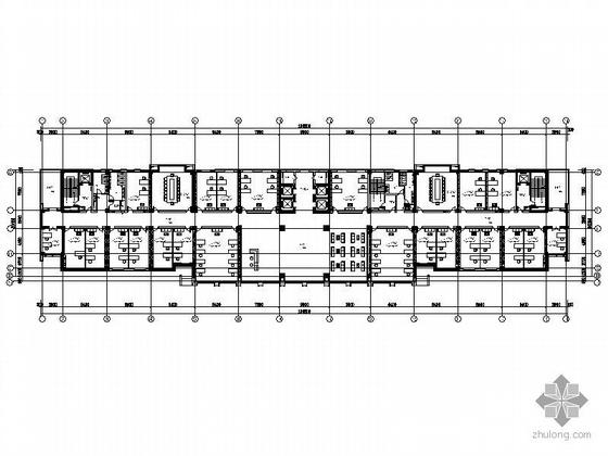 [南京]人防指挥中心大楼平面设计方案