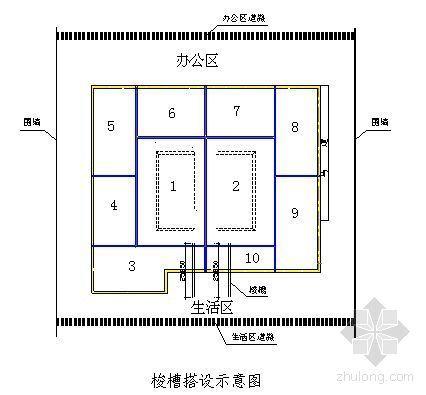 成都某办公楼大体积混凝土施工方案(测温)