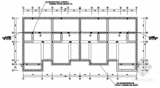上海某A型联排别墅电气施工图