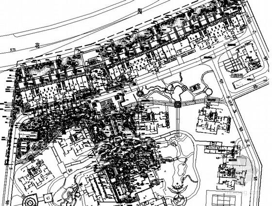 [常州]生态居住区园林景观工程施工图全套