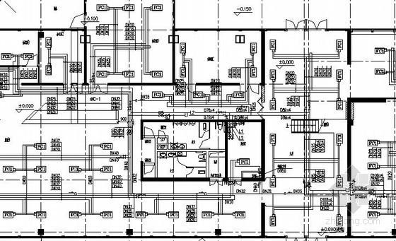[广东]展厅中央空调及防排烟系统设计施工图