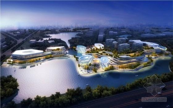 [江苏]滨水高层商业综合体设计方案文本(知名事务所)