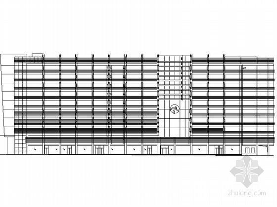 某十层大型商场建筑扩初图