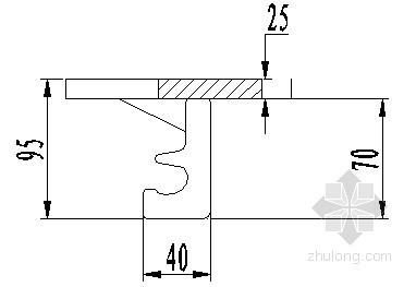 LBSZ-160型桥梁伸缩装置安装示意图