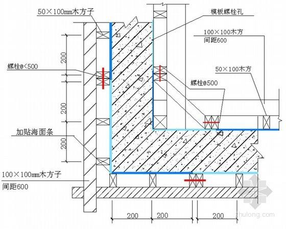 [北京]框架结构综合业务楼总承包施工组织设计