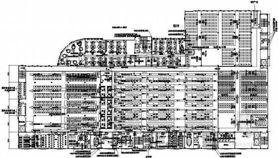 [东莞]工业厂房空调通风设计施工图
