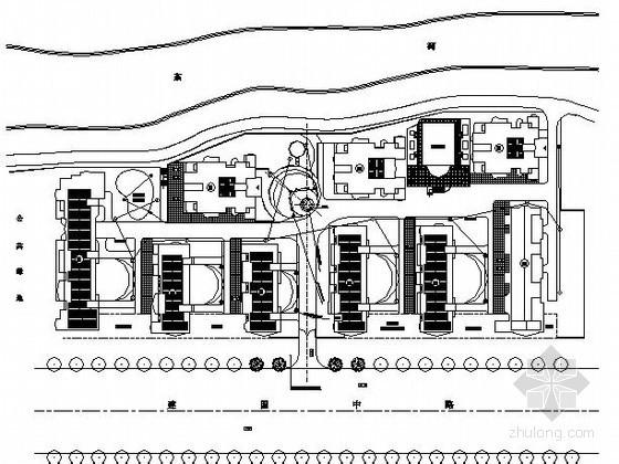 [杭州]某花园小区景观工程施工图