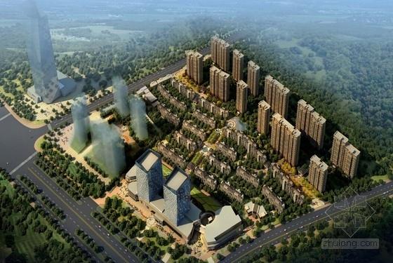 [江西]ARTDECO风格住宅及现代商业楼建筑设计方案文本(467页)
