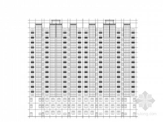 [江西]现代风格17层住宅楼建筑施工图