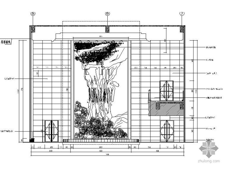 综合楼大堂装修施工图_2