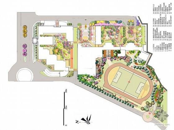 东莞幼儿园景观设计方案