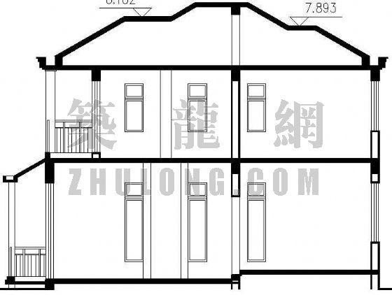 某二层独立别墅建筑施工图-3