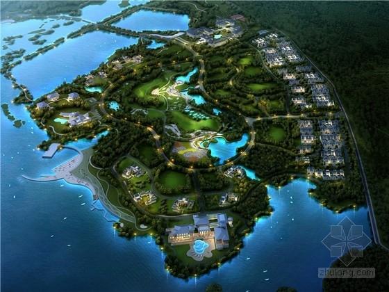 [安徽]新中式风格生态旅游度假区规划设计方案文本
