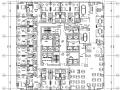 浙江大型商业广场办公&商业电气施工图