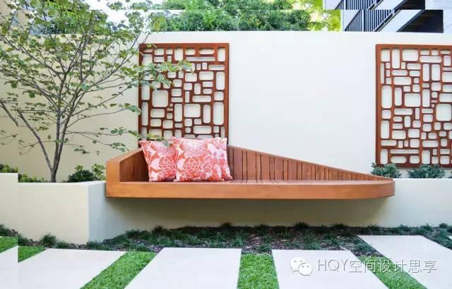 庭院景观 | 十七款庭院艺术景墙设计