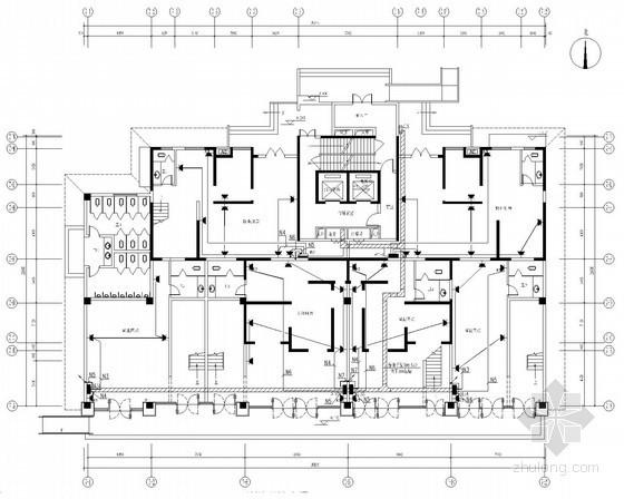 [陕西]高层住宅电气施工图(甲级院最新设计)