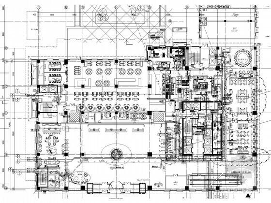 [湖南]五星级酒店给排水消防施工图(中水回收 虹吸雨水 气体灭火)