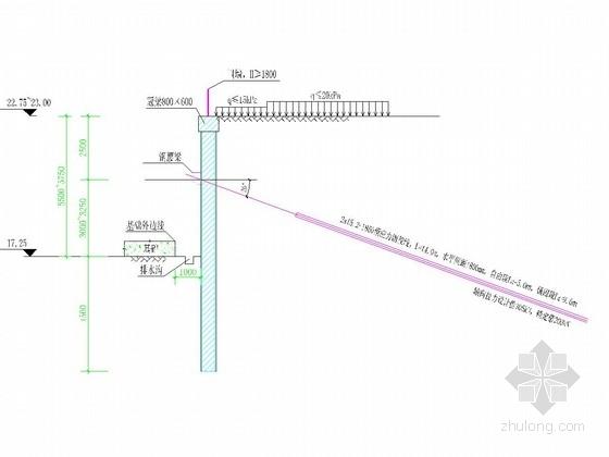 [海南]基坑土钉墙及排桩支护施工图