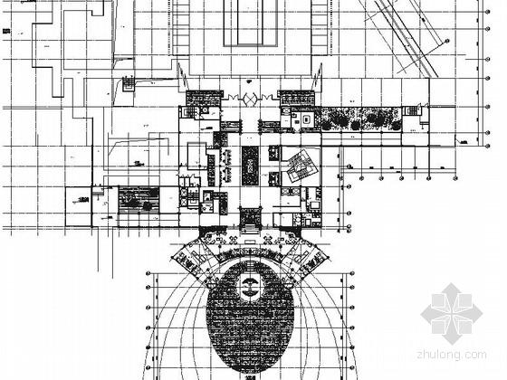 [云南]高档现代五星级商务酒店室内设计施工图(含方案)