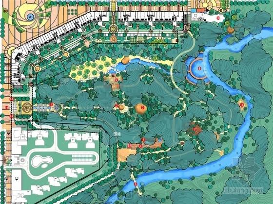 [大亚湾]滨水湿地公园景观规划设计方案