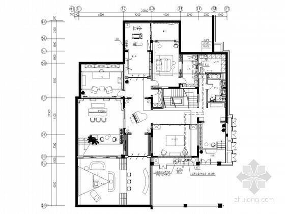 [天津]二层别墅给排水施工图(含地下室)