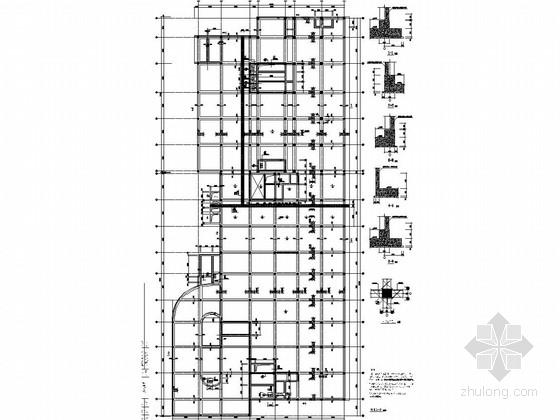 筏板基础施工图