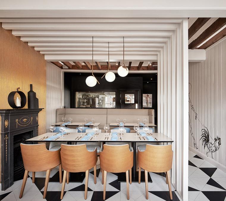 英国CocoRetro餐厅