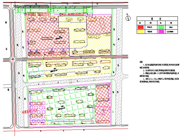 住宅楼总平面布置(CAD)