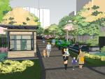 海南某现代小区景观设计SketchUp模型