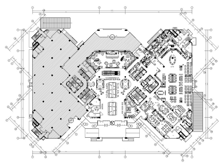 [金螳螂]上海铂尔曼酒店装饰施工图(附方案效果图)