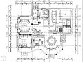 复地爱伦坡二层美式风格别墅设计施工图(附效果图)