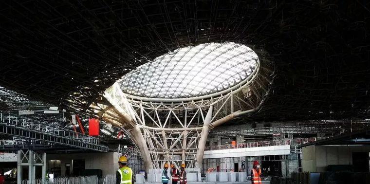 北京新机场地下:塞进了五条轨道线相当于一个北京站_11
