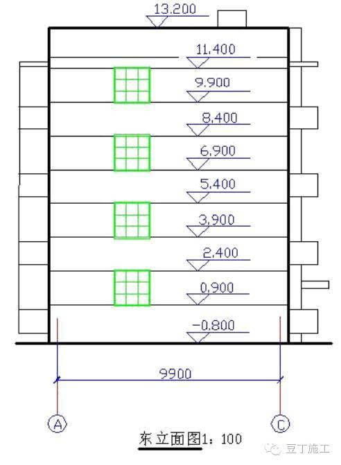 平面图、立面图、剖面图包含的图纸信息,你都看全了吗?_8
