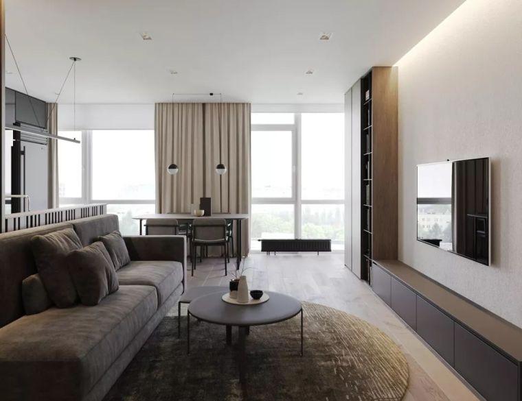 85㎡ 两房一厅的布局设计,就该这样!