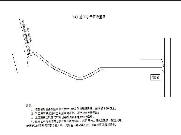 黄石市西塞山区某路道路、排水改造工程施工组织设计
