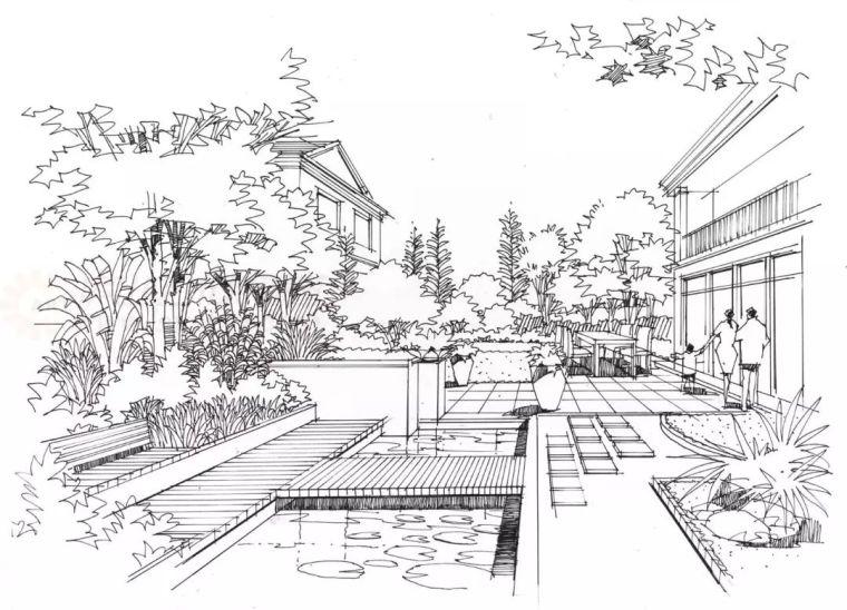 作为景观设计师必须掌握的景观线稿表现_6
