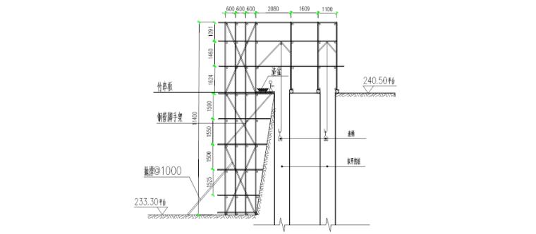 [重庆]龙湖·春森彼岸四期工程T2-3栋边坡桩、半坡桩专项施工方案