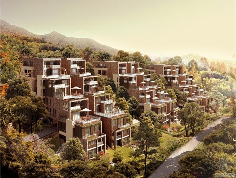 山地建筑的概念