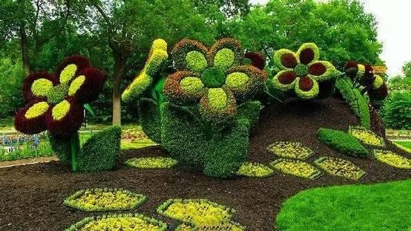 80个极美植物雕塑_42