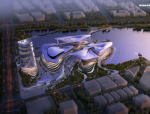 【江苏】镇江市四馆一中心建筑概念方案设计